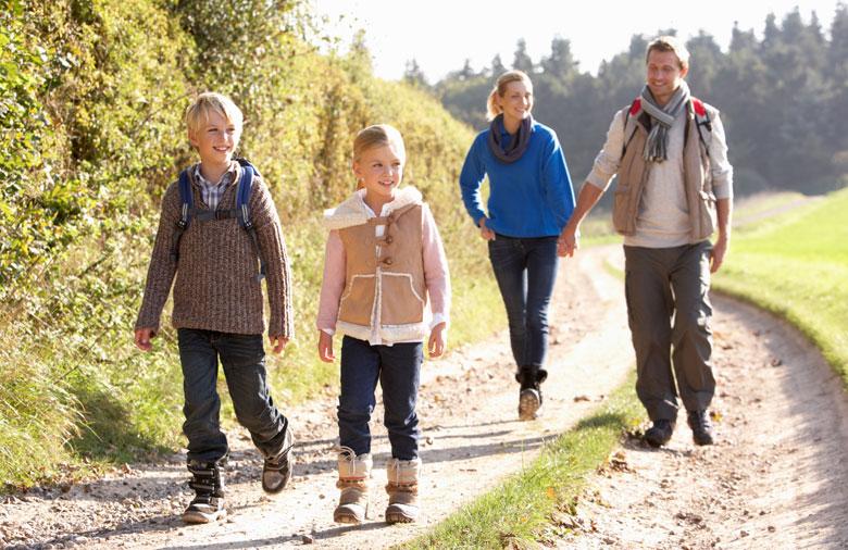 family.walking